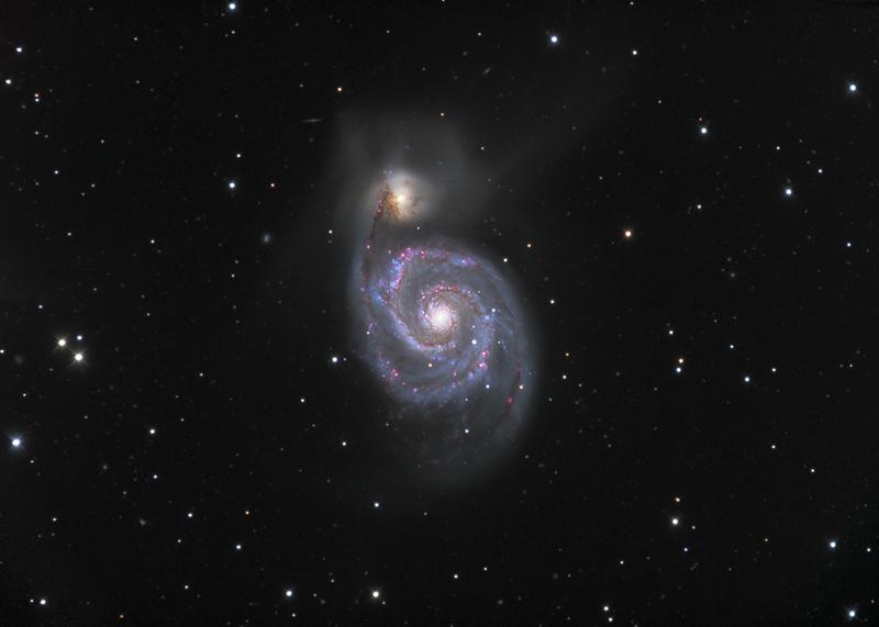 30 Malströmsgalaxen M51
