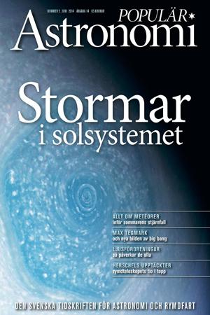 Storm på Saturnus! Populär Astronomi nr 1 2014