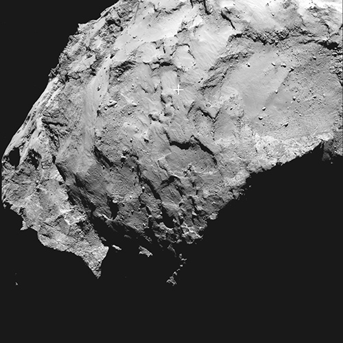 Bild: ESA/Rosetta/MPS for OSIRIS Team MPS/UPD/LAM/IAA/SSO/INTA/UPM/DASP/IDA