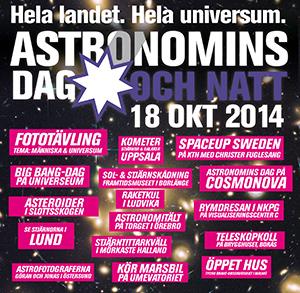 Annons: Astronomins dag och natt 2014