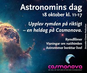 Annons: Cosmonova Astronomins dag 2014