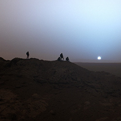 Bild: Eric Wernquist/NASA/JPL/Texas A&M/Cornell