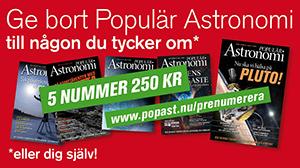Ge bort Populär Astronomi i julklapp!