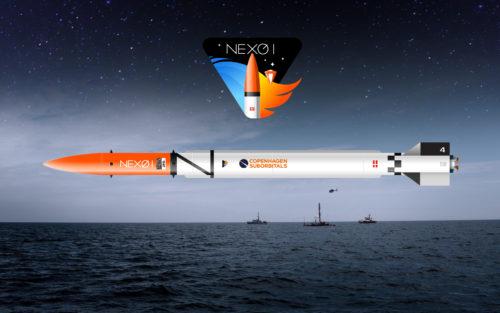 Nexø 1 markerar starten för projektets mest avancerade raketklass. Bild: Copenhagen Suborbitals.