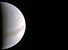 Jupiter från Juno