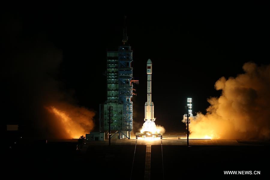 Tiangong-2 uppskjutning