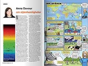 Krönika av Anna Davour och Infosfären av Yvette Gustafsson
