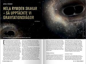 Hela rymden skakar av Ulf Torkelsson
