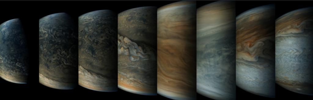 8 nyanser av Jupiter