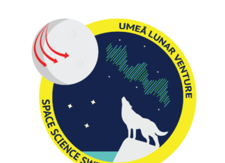 Umeå Lunar Venture - Logotyp