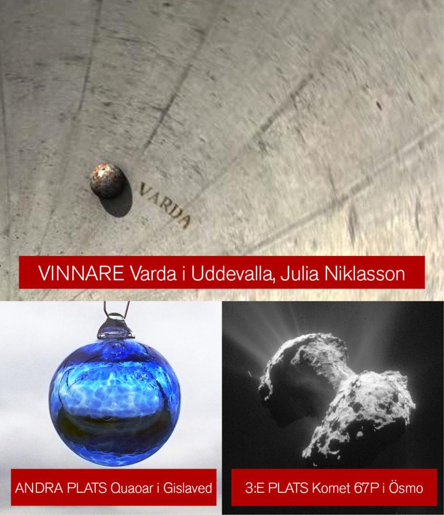 Bilder: Julia Niklasson; Gislaveds Astronomiska Sällskap Orion; ESA/DLR