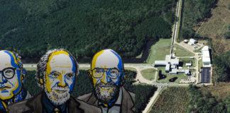 Foto: LIGO-samarbetet; porträtt: © Nobel Media. Ill. N. Elmehed