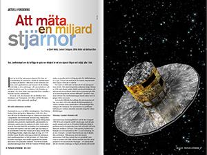Läs om Gaia i Populär Astronomi 2013/3