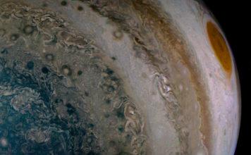 Bild: NASA/SWRI/Junocam/Emma Walimaki