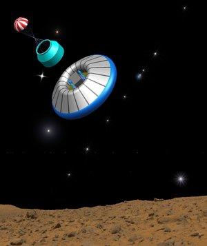 Landaren för ESAs flaggskeppsprojekt ExoMars, som ingår i Auroraprogrammet. (Bild: ESA)