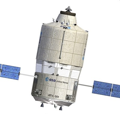 ESAs obemannade rymdfärja Juses Verne