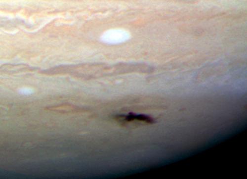 Bild: NASA, ESA, H. Hammel (Space Science Institute, Boulder) och Jupiter Impact Team