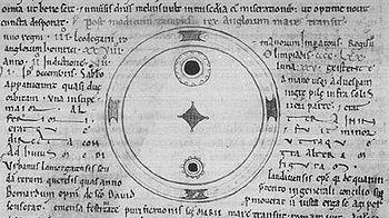 Teckning från John Worcesters krönika (Wikipedia commons)
