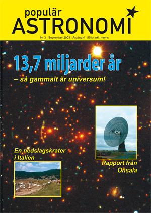 Populär Astronomi 2003 nr 3