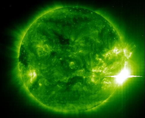 Bild: NASA/ESA/SOHO