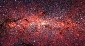 Bild: NASA/JPL-Caltech/S. Stolovy (SSC/Caltech)