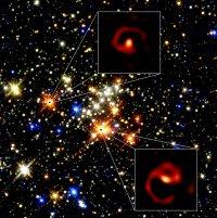 Bild: P. Tuthill (Sydney U), Keck Observatory, D. Figer (Rochester)