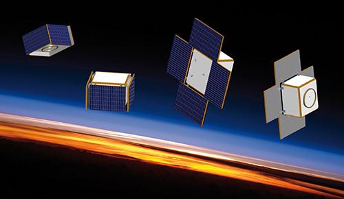 Montage: NASA/JSC; OHB Sweden