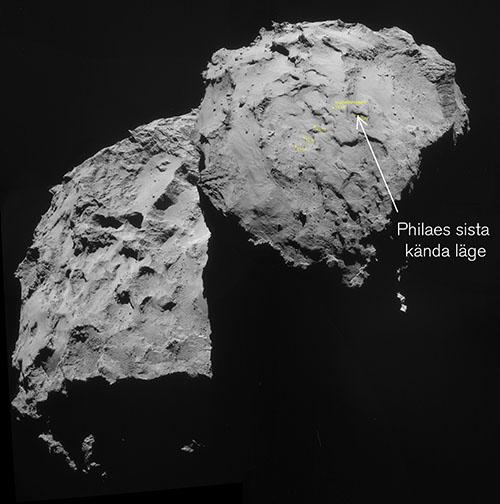 Bild: ESA / Rosetta / NavCam / Emily Lakdawalla