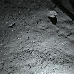 Bild: ESA/ROLIS/Philae/DLR (tror vi)
