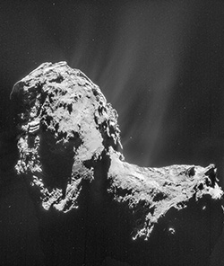 Bild: ESA/Rosetta/NAVCAM – CC BY-SA IGO 3.0