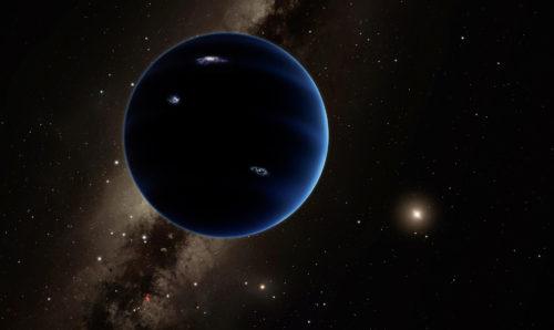 Så här skulle Planet 9, en hypotetisk nionde planet i vårt solsystem, kunna se ut. Om det visar sig vara en planet, och inte bara en ansamling av mindre himlakroppar, så är frågan vart den kommer ifrån. En avlägsen planet som fångats in eller en tidigare inre planet som kastats ut i exil långt bortom Neptunus? Bild: Caltech/R. Hurt (IPAC)