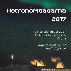 Astronomdagarna 2017 i Kiruna