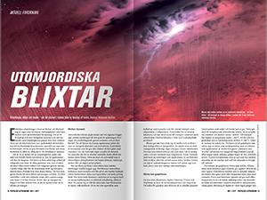 Utomjordiska blixtar av Andreas Johansson