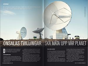 Onsalas tvillingar ska mäta upp vår planet av Katja Lindblom