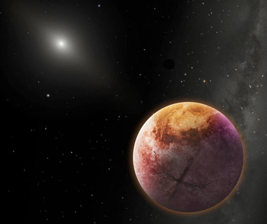 Nya upptackten en planet med fyra solar