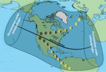 Karta: Per Ahlin/Populär Astronomi