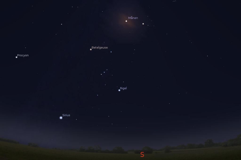Bild: Stellarium