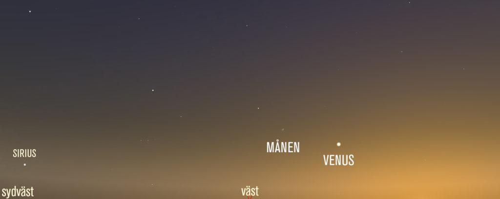 Bild. Stellarium