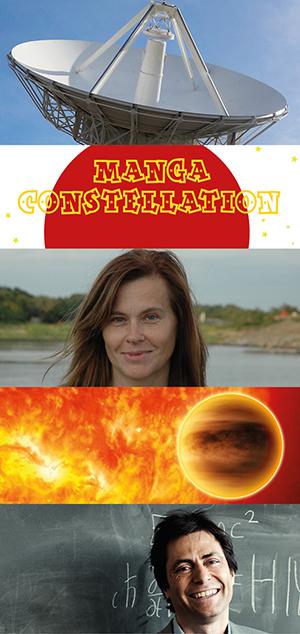 Bilder: Chalmers, Costellazione Manga; Chalmers; ESA; Anders Lindén
