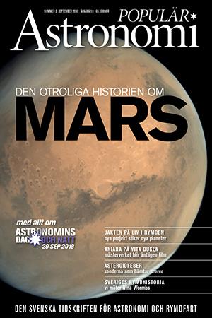 I Populär Astronomi 2018/3 hade vi Mars på omslaget