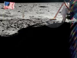 Bild från NASA:s Apollo 11-arkiv. Bildkälla: NASA