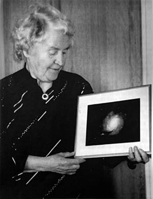 Aina Elvius på 80-årsdagen