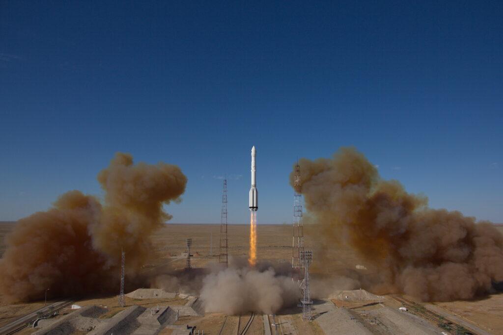 Spektr-RG skjuts upp. Foto: Roscosmos