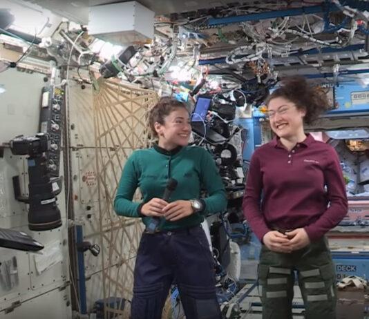 Videostillbild: NASA