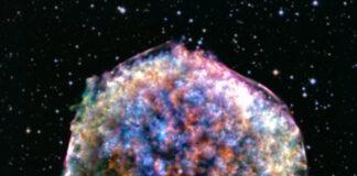Bild: X-ray: NASA/CXC/RIKEN & GSFC/T. Sato et al; Optical: DSS
