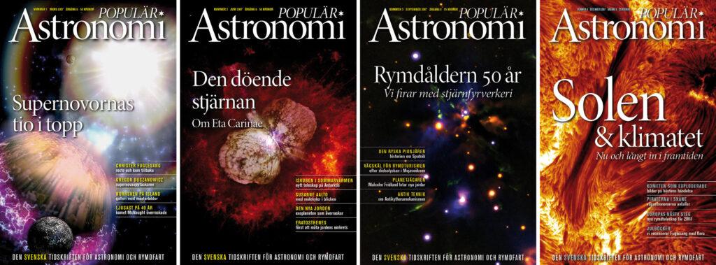 Populär Astronomi 2007