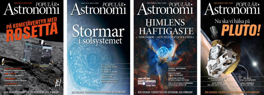 Populär Astronomi 2014