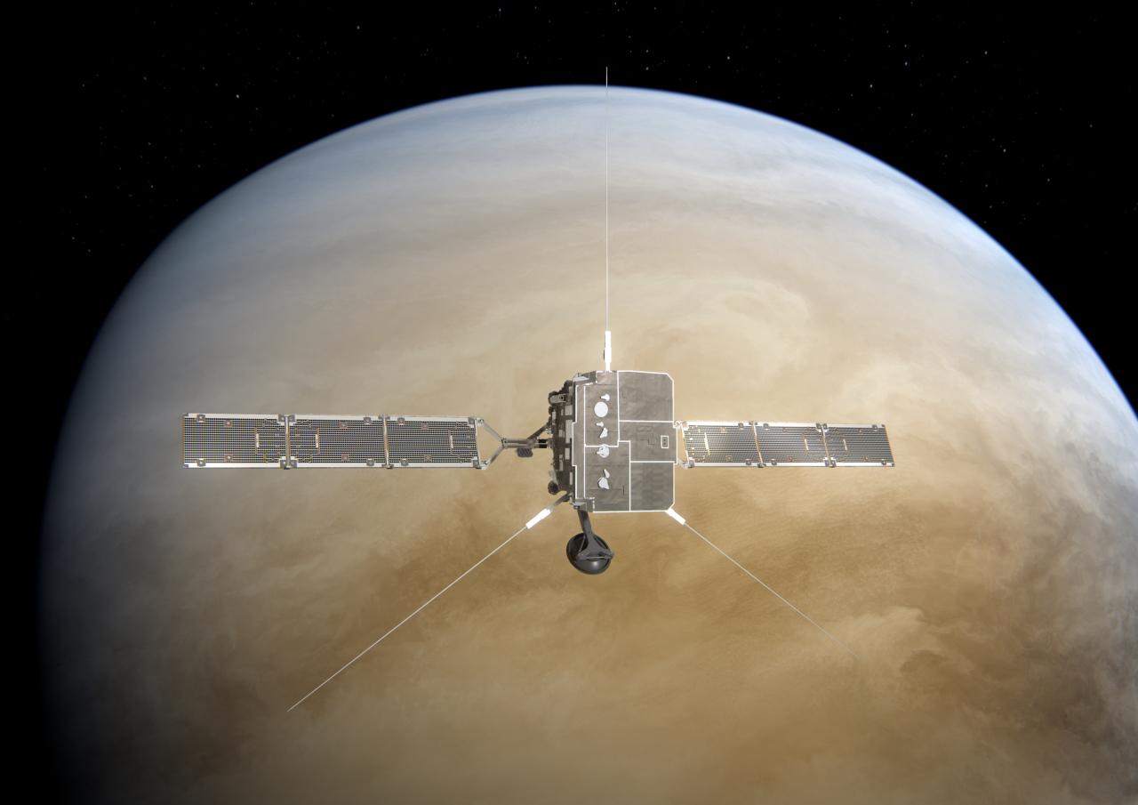 Solar Orbiter vid Venus