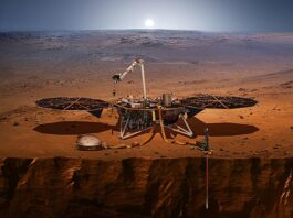 InSight (NASA/Wikimedia Commons)