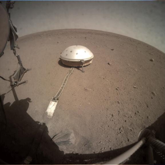 InSight på Mars (NASA).